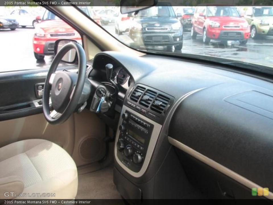 Cashmere Interior Dashboard for the 2005 Pontiac Montana SV6 FWD #39843050
