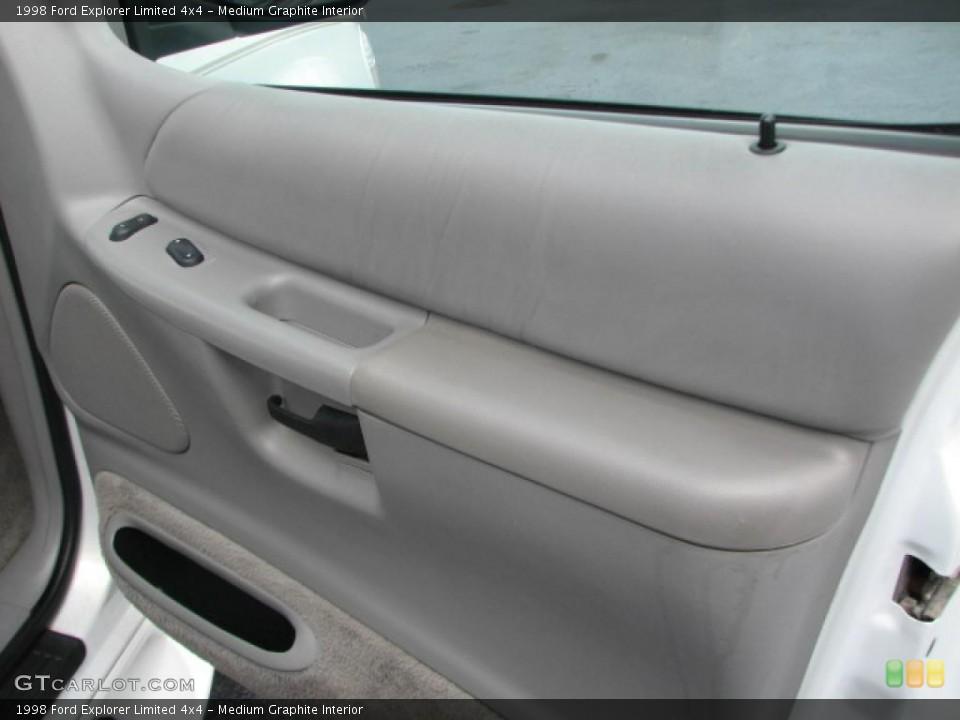 Medium Graphite Interior Door Panel for the 1998 Ford Explorer Limited 4x4 #39862603