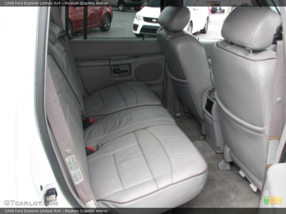 Medium Graphite Interior Photo for the 1998 Ford Explorer Limited 4x4 #39862668