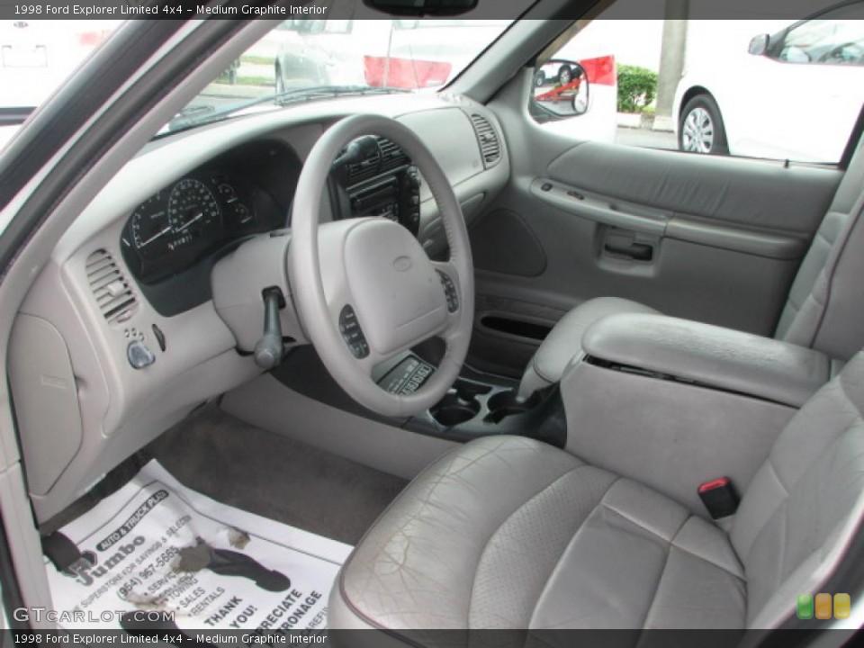Medium Graphite Interior Prime Interior for the 1998 Ford Explorer Limited 4x4 #39862683