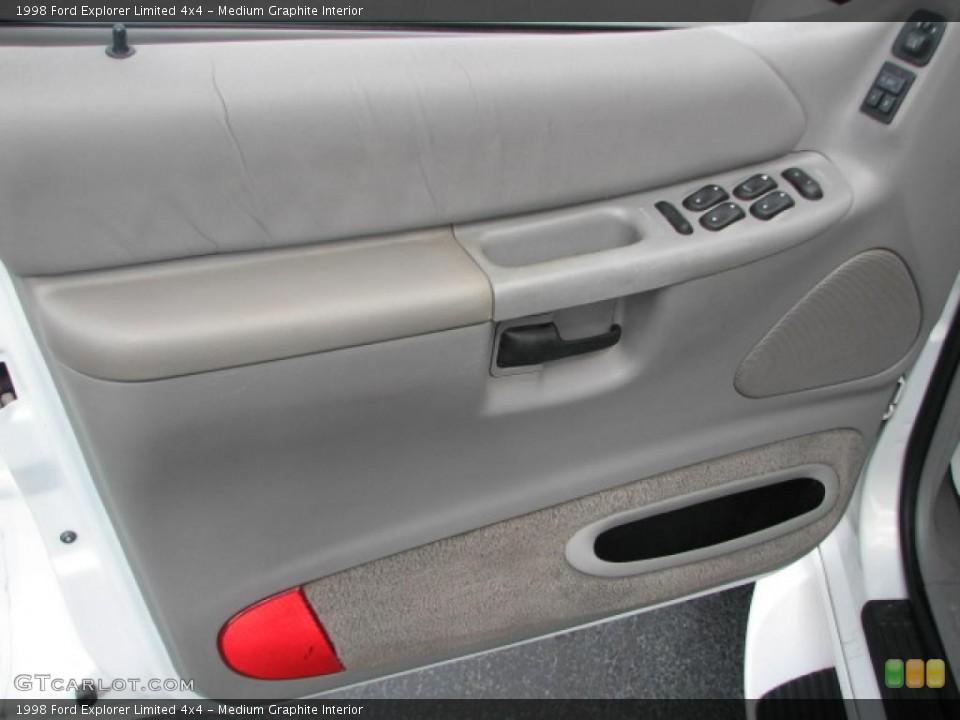 Medium Graphite Interior Door Panel for the 1998 Ford Explorer Limited 4x4 #39862728