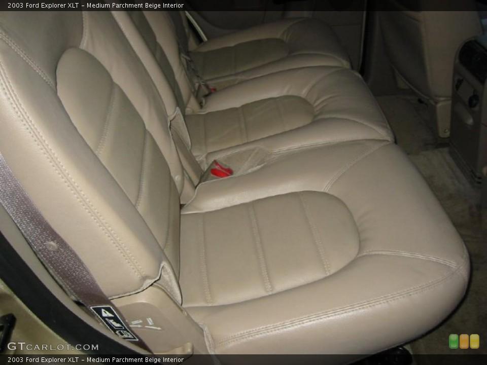 Medium Parchment Beige Interior Photo for the 2003 Ford Explorer XLT #39970168