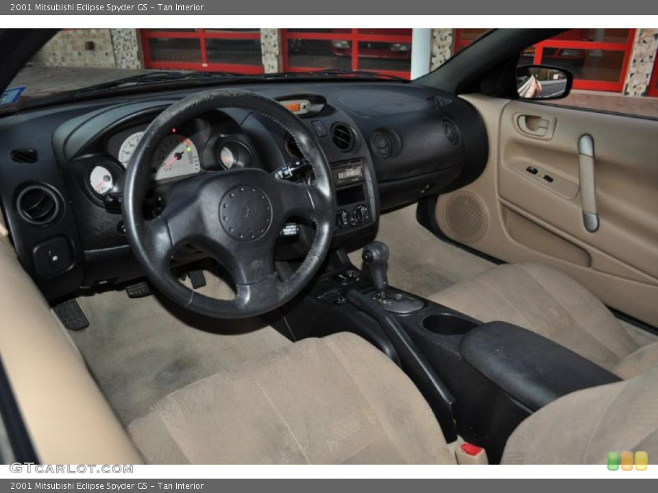 2001 Mitsubishi Eclipse Spyder gs 2001 Mitsubishi Eclipse