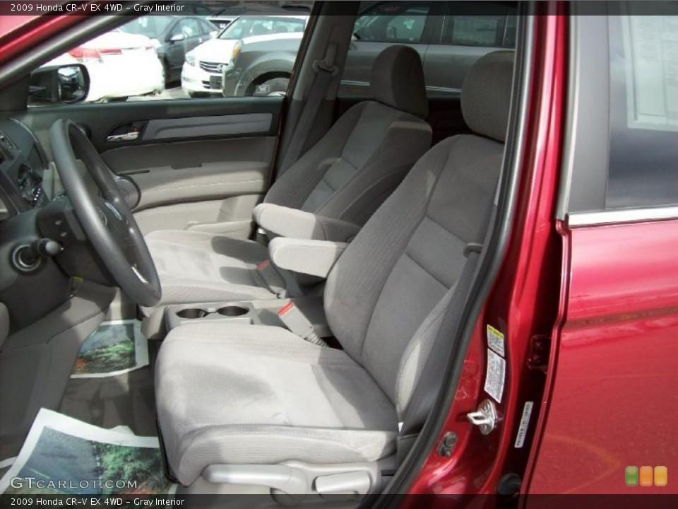 Gray Interior Photo for the 2009 Honda CR-V EX 4WD #39999744