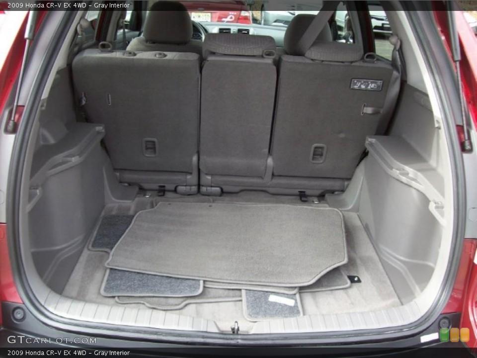 Gray Interior Trunk for the 2009 Honda CR-V EX 4WD #39999780