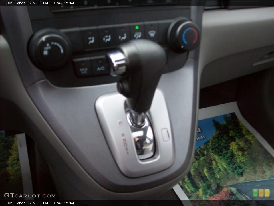 Gray Interior Transmission for the 2009 Honda CR-V EX 4WD #39999940