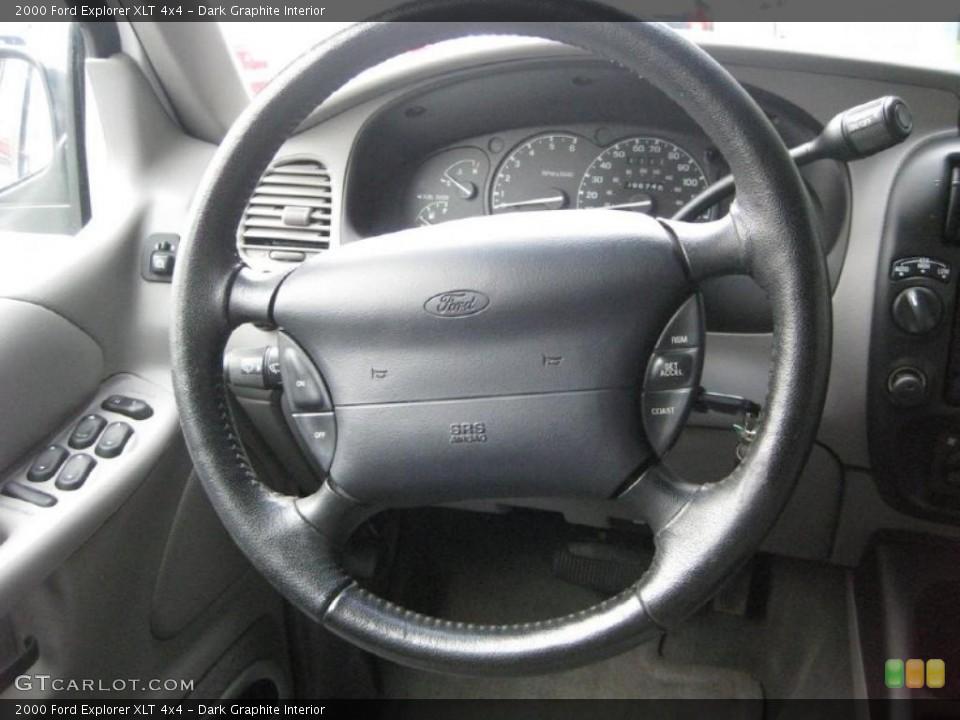 Dark Graphite Interior Steering Wheel for the 2000 Ford Explorer XLT 4x4 #40021354