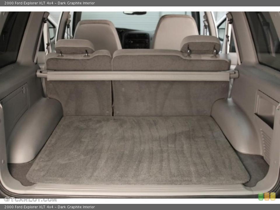 Dark Graphite Interior Trunk for the 2000 Ford Explorer XLT 4x4 #40021450