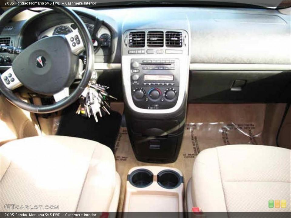 Cashmere Interior Dashboard for the 2005 Pontiac Montana SV6 FWD #40155821