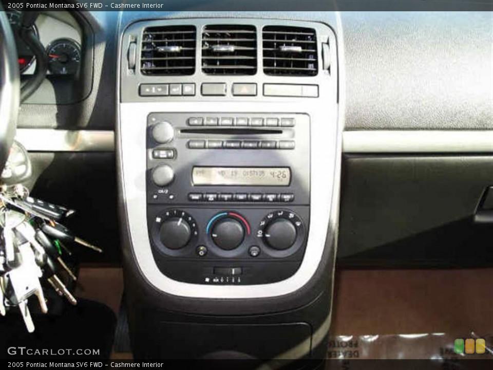 Cashmere Interior Controls for the 2005 Pontiac Montana SV6 FWD #40155853