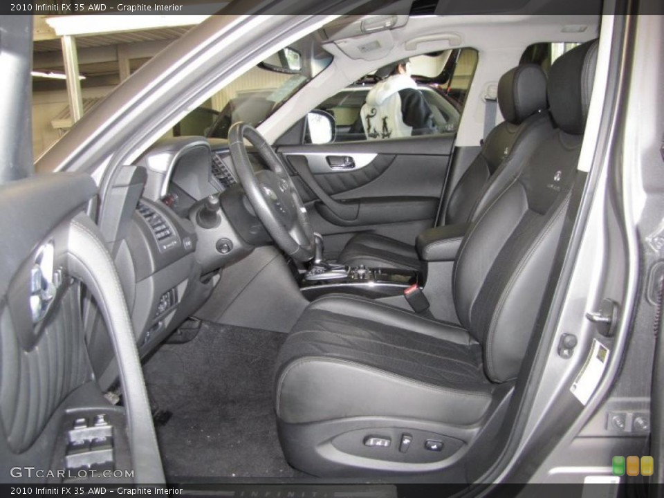Graphite Interior Photo for the 2010 Infiniti FX 35 AWD #40200544