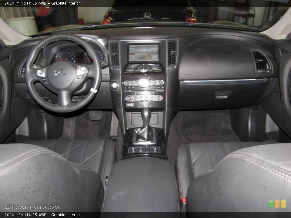 Graphite Interior Prime Interior for the 2010 Infiniti FX 35 AWD #40200592