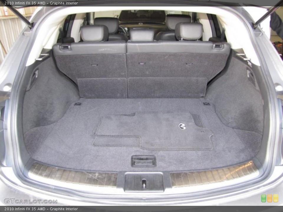 Graphite Interior Trunk for the 2010 Infiniti FX 35 AWD #40200712