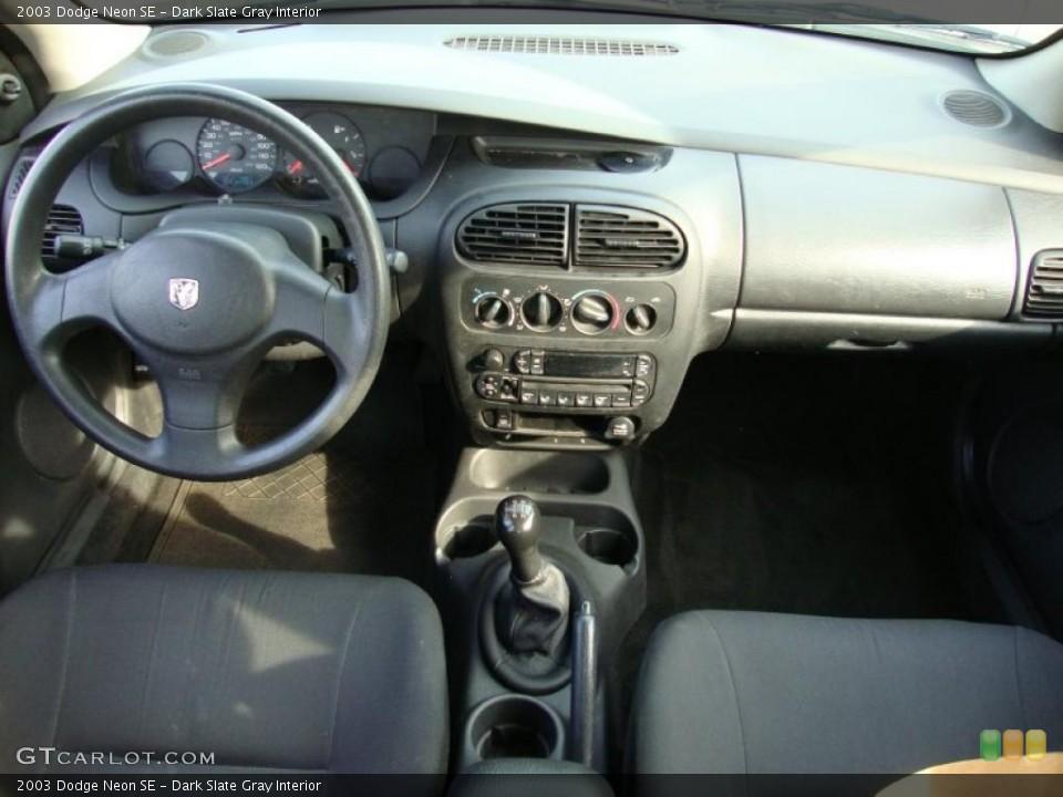 Dark Slate Gray 2003 Dodge Neon Interiors