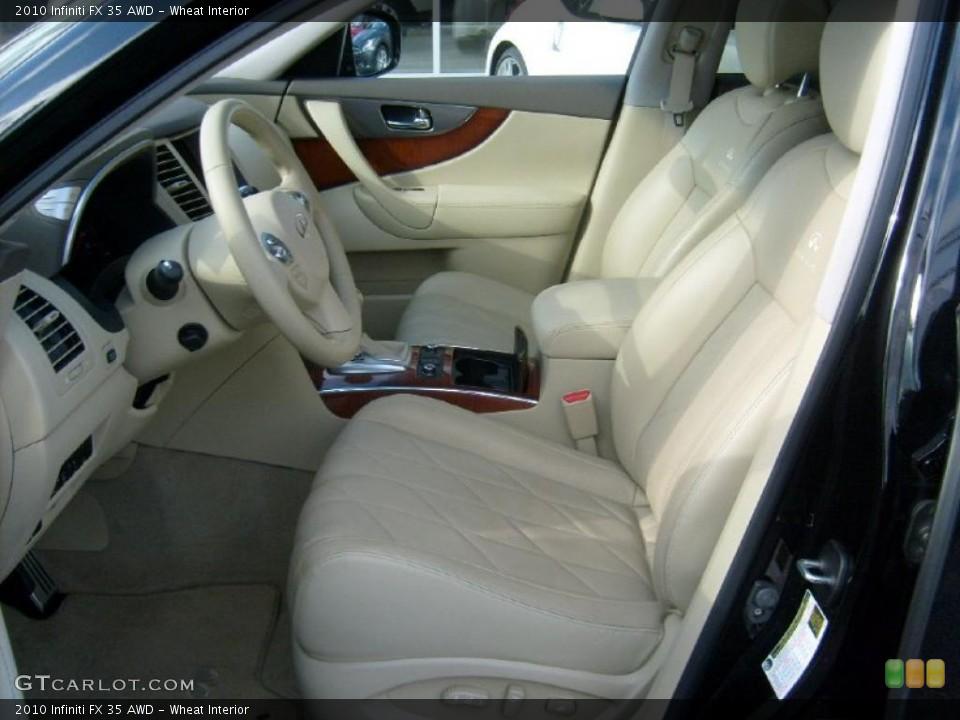 Wheat Interior Photo for the 2010 Infiniti FX 35 AWD #40314120