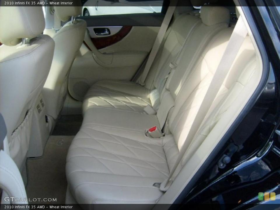 Wheat Interior Photo for the 2010 Infiniti FX 35 AWD #40314152
