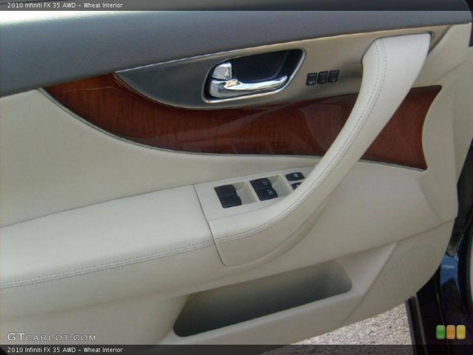 Wheat Interior Door Panel for the 2010 Infiniti FX 35 AWD #40314300