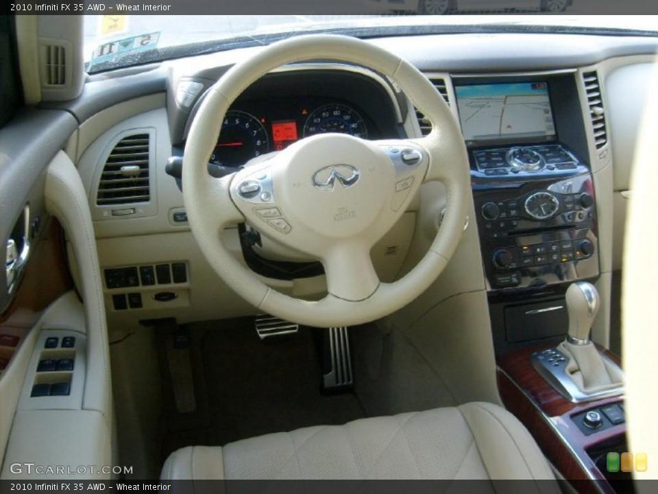 Wheat Interior Dashboard for the 2010 Infiniti FX 35 AWD #40314316