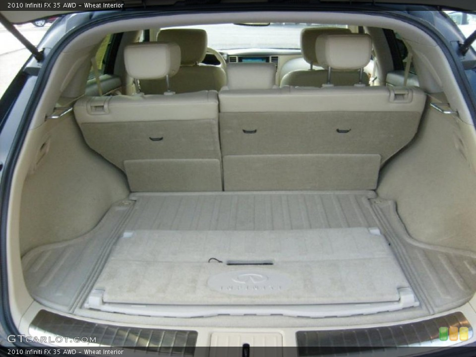 Wheat Interior Trunk for the 2010 Infiniti FX 35 AWD #40314332