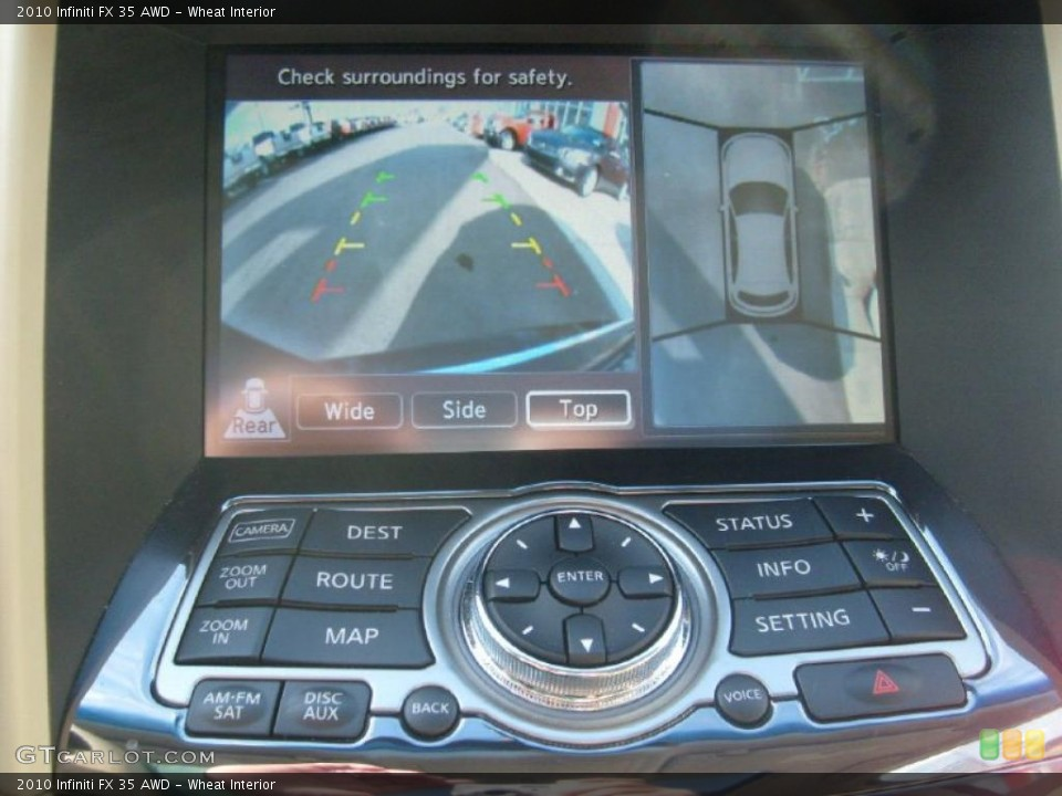 Wheat Interior Navigation for the 2010 Infiniti FX 35 AWD #40314364