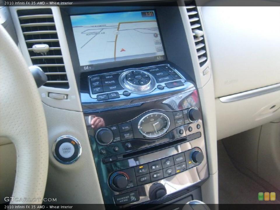 Wheat Interior Controls for the 2010 Infiniti FX 35 AWD #40314380