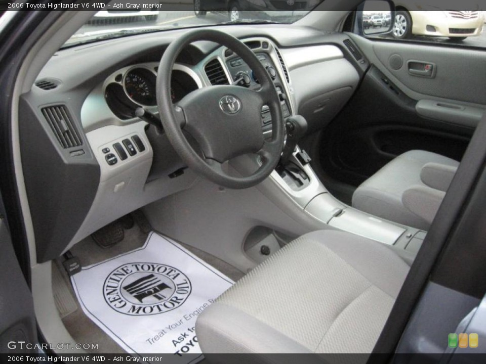 Ash Gray Interior Prime For The 2006 Toyota Highlander V6 4wd 40701573