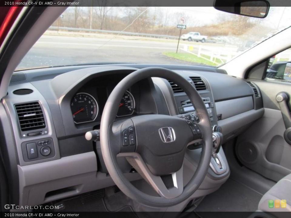 Gray Interior Photo for the 2010 Honda CR-V EX AWD #41020871