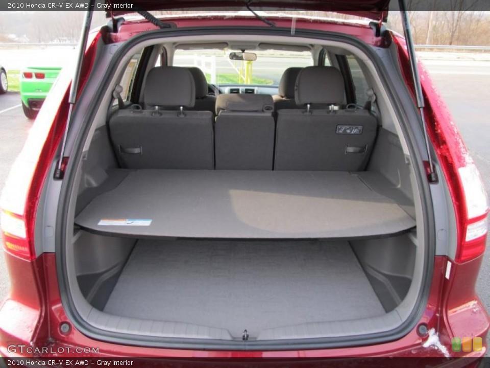 Gray Interior Trunk for the 2010 Honda CR-V EX AWD #41020915