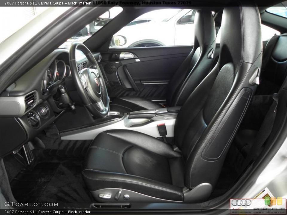 Black Interior Photo for the 2007 Porsche 911 Carrera Coupe #41024076