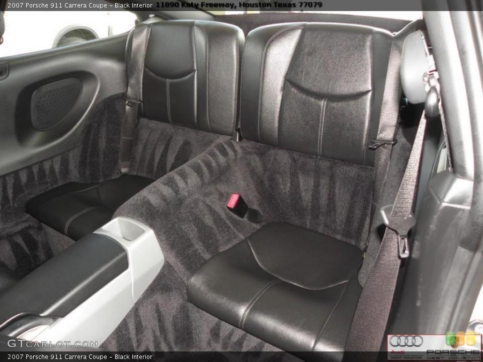 Black Interior Photo for the 2007 Porsche 911 Carrera Coupe #41024136