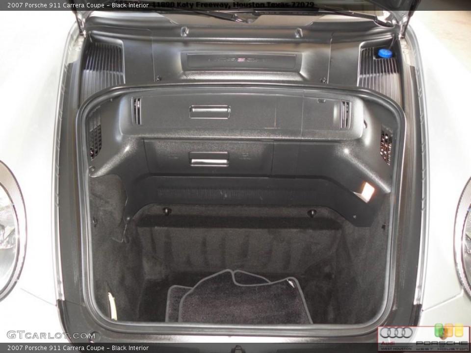 Black Interior Trunk for the 2007 Porsche 911 Carrera Coupe #41024188