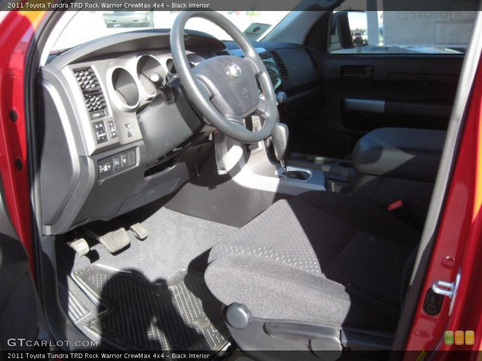 Black Interior Photo for the 2011 Toyota Tundra TRD Rock Warrior CrewMax 4x4 #41096349