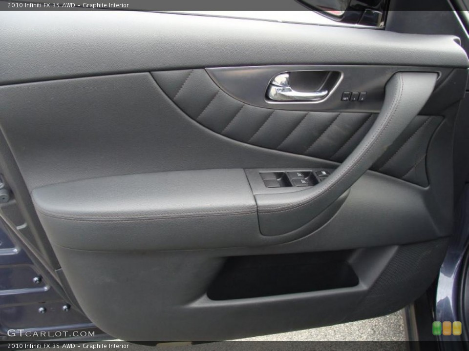 Graphite Interior Door Panel for the 2010 Infiniti FX 35 AWD #41127747