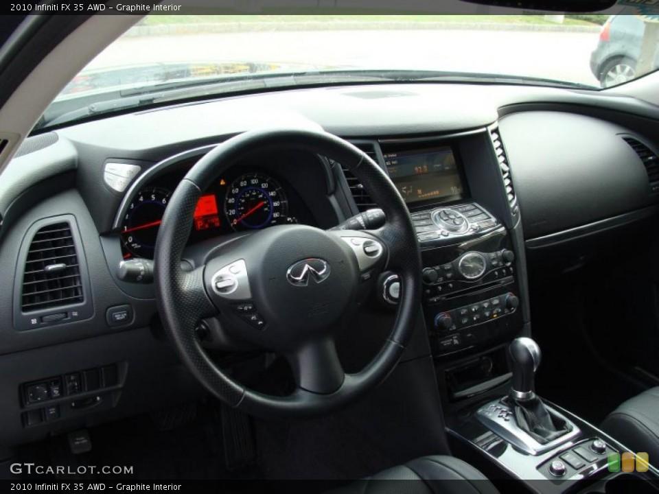 Graphite Interior Photo for the 2010 Infiniti FX 35 AWD #41127779