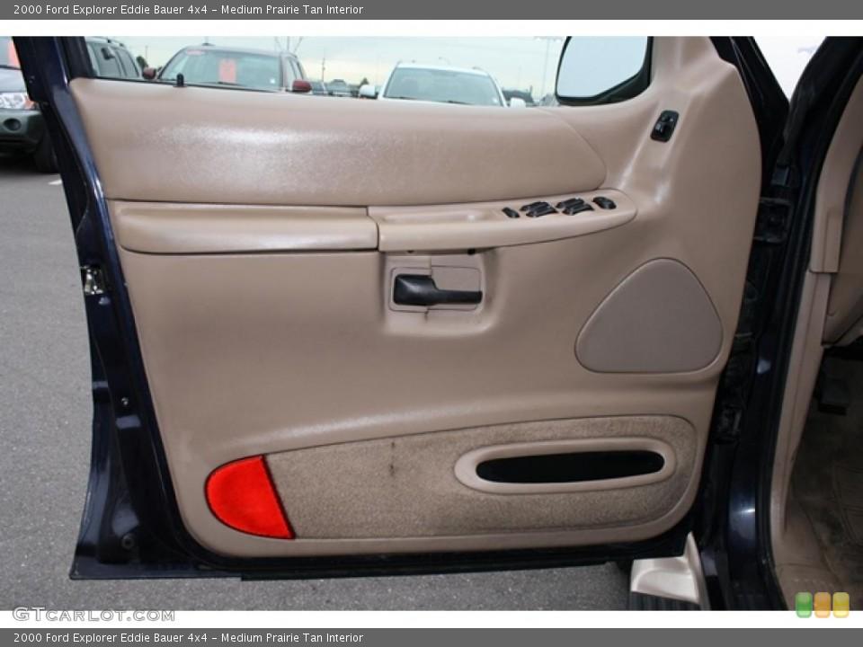 Medium Prairie Tan Interior Door Panel for the 2000 Ford Explorer Eddie Bauer 4x4 #41194022