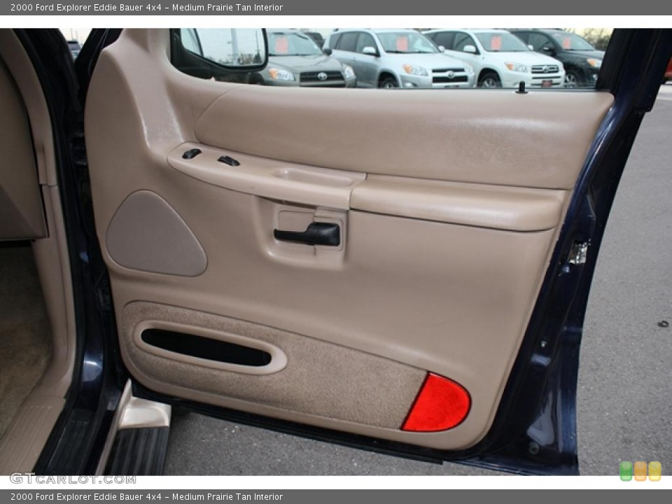 Medium Prairie Tan Interior Door Panel for the 2000 Ford Explorer Eddie Bauer 4x4 #41194042