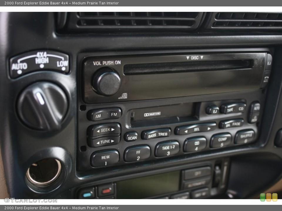 Medium Prairie Tan Interior Controls for the 2000 Ford Explorer Eddie Bauer 4x4 #41194090