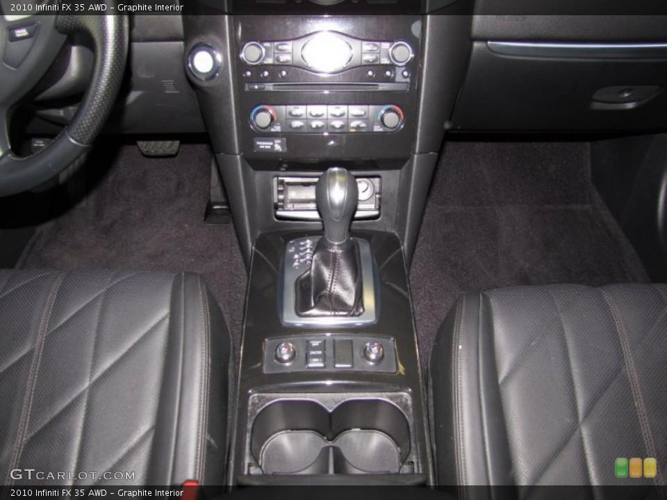 Graphite Interior Transmission for the 2010 Infiniti FX 35 AWD #41194950