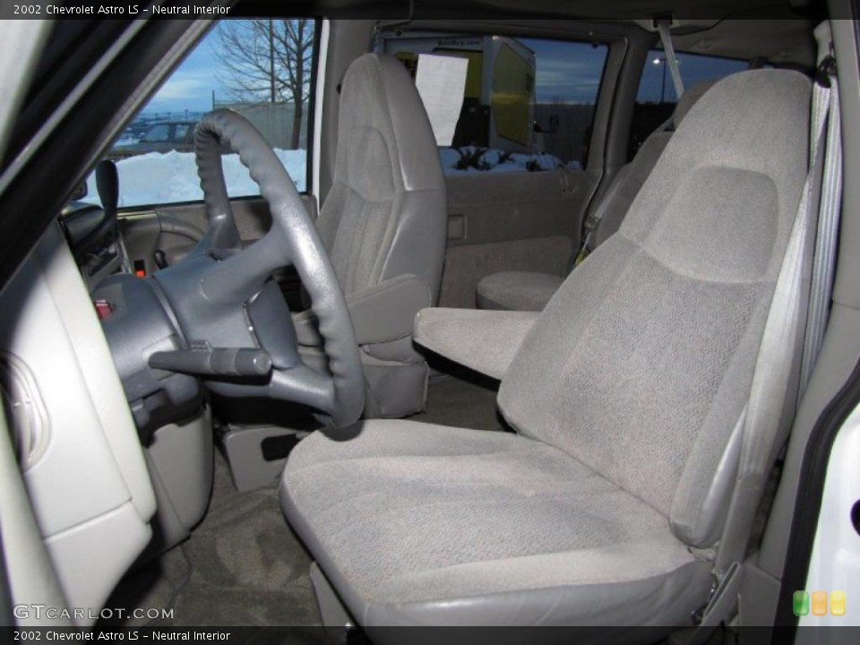 Neutral Interior Photo for the 2002 Chevrolet Astro LS #41242512