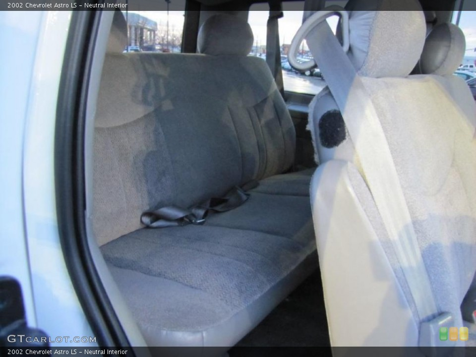 Neutral Interior Photo for the 2002 Chevrolet Astro LS #41242560