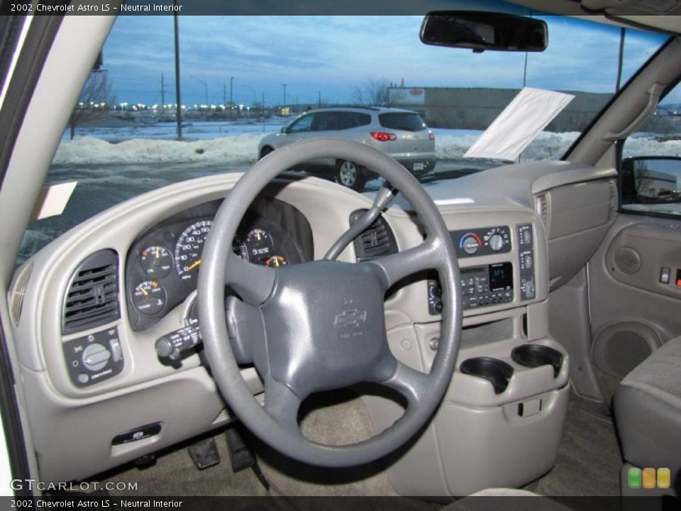 Neutral 2002 Chevrolet Astro Interiors