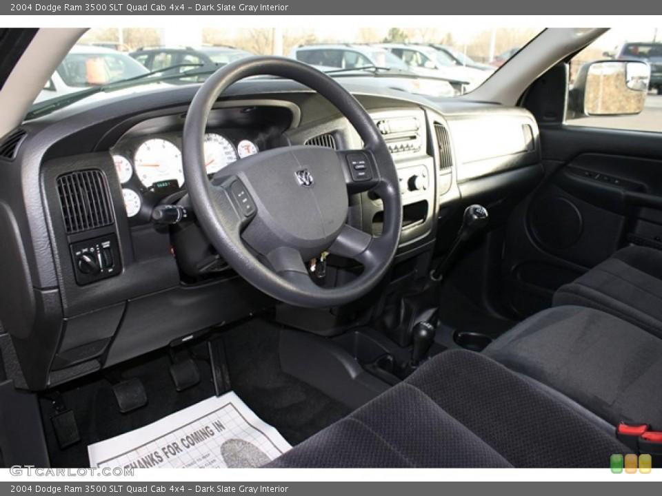 Dark Slate Gray 2004 Dodge Ram 3500 Interiors