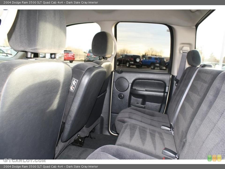 Dark Slate Gray Interior Photo for the 2004 Dodge Ram 3500 SLT Quad Cab 4x4 #41250561