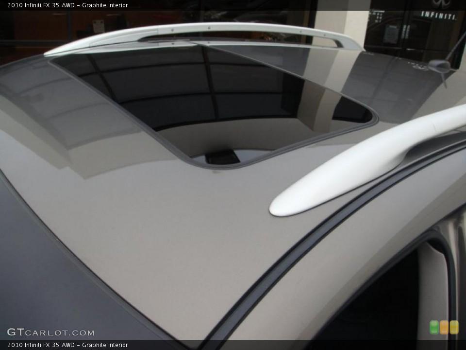 Graphite Interior Sunroof for the 2010 Infiniti FX 35 AWD #41444563