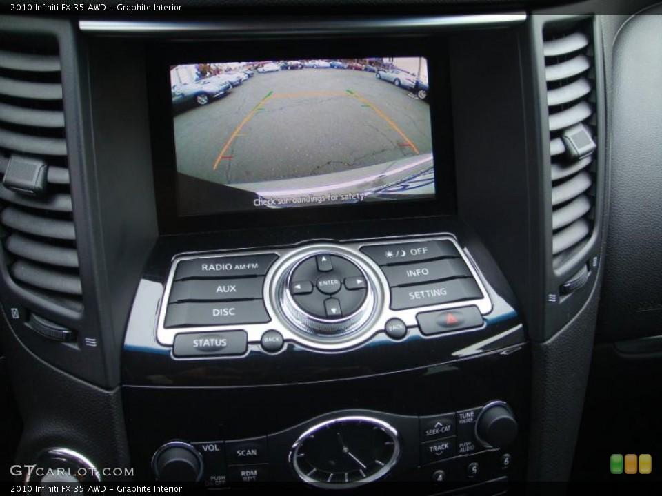 Graphite Interior Navigation for the 2010 Infiniti FX 35 AWD #41444679