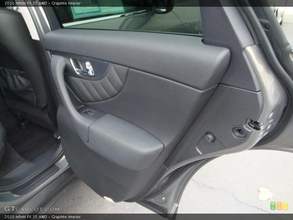 Graphite Interior Door Panel for the 2010 Infiniti FX 35 AWD #41444739