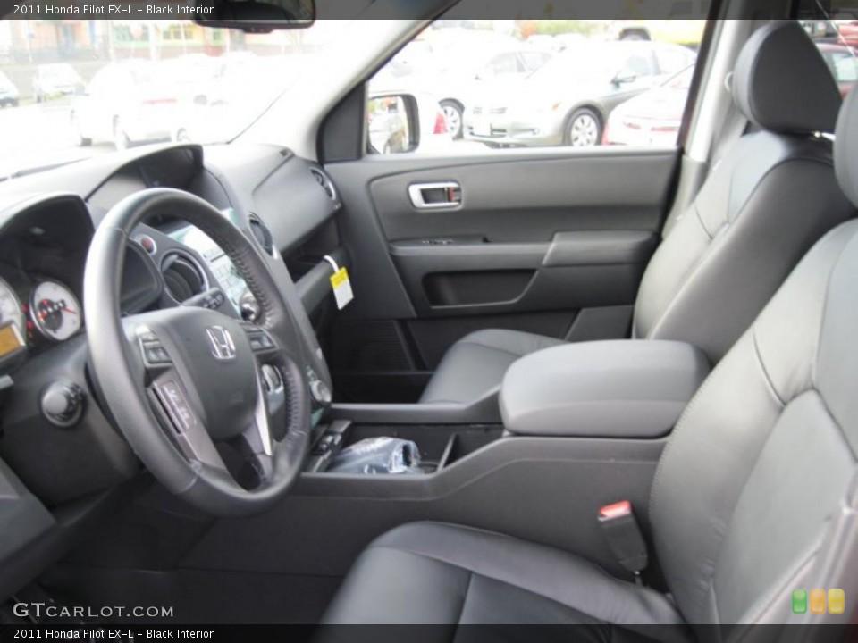 Black Interior Photo for the 2011 Honda Pilot EX-L #41491415