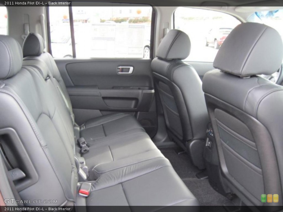 Black Interior Photo for the 2011 Honda Pilot EX-L #41491455