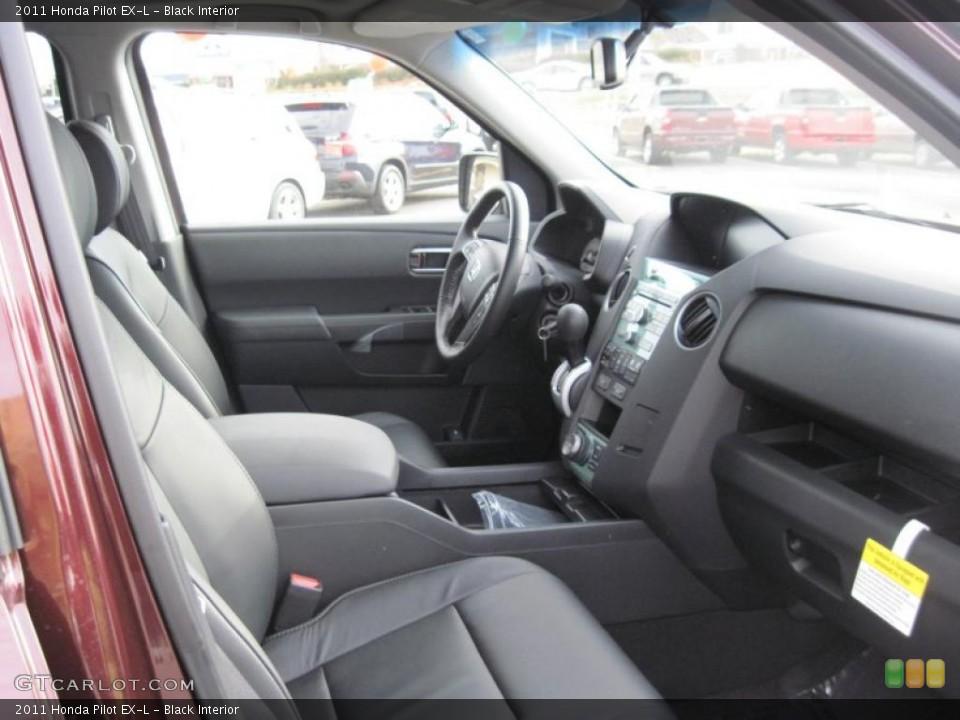 Black Interior Photo for the 2011 Honda Pilot EX-L #41491471