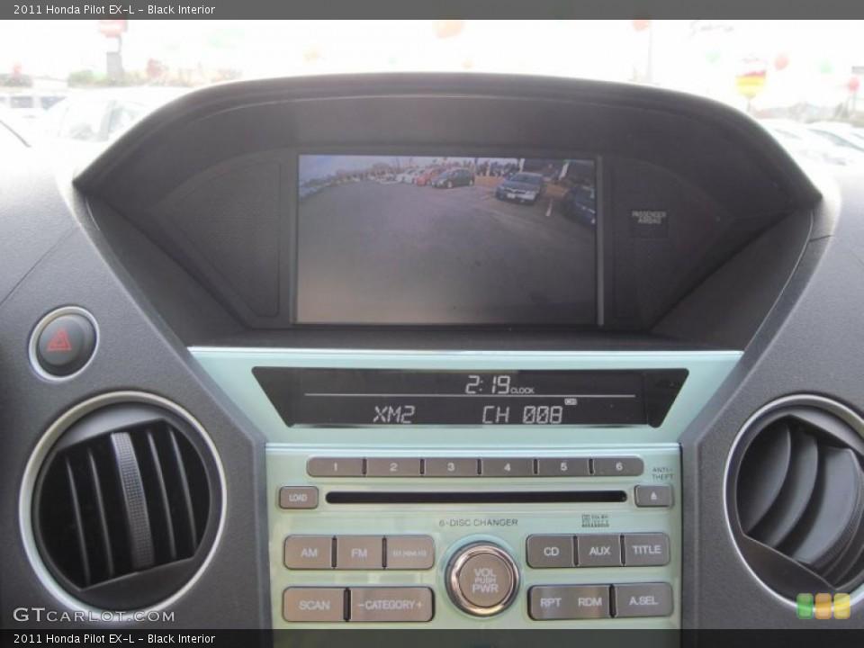 Black Interior Controls for the 2011 Honda Pilot EX-L #41491487
